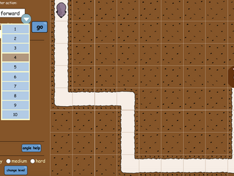 Mole Maze Interactive Activity - KS2 Geometry