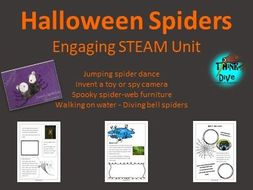 Halloween Spiders - STEAM, Biomimicry for Young Children -UK