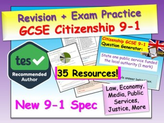 Citizenship GCSE 9-1 exam practice