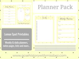 Teacher Planner Pack