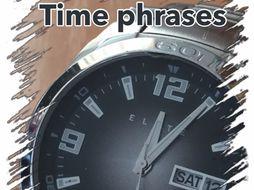Time phrases (Zeitwörter) - German (Deutsch)