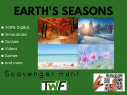 Earth's Seasons Scavenger Hunt Activity