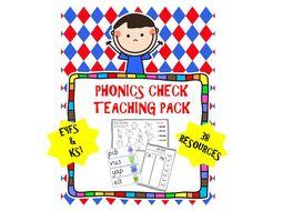 Phonics Check Teaching Pack
