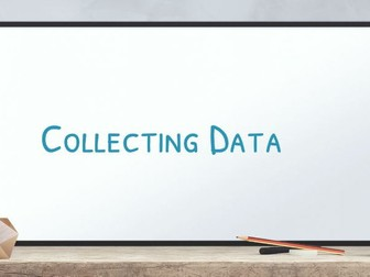 GCSE Statistics Collecting Data 5: Primary and Secondary Data