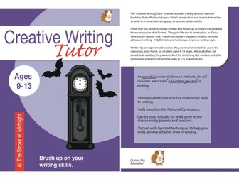 At The Stroke Of Midnight: Brush Up On Your Writing Skills (Creative Writing Tutor) (ages 9-13 years