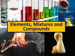 Elements, Mixtures and Compounds Full Unit