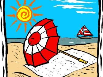 El verano que viene Lectura: Upcoming Summer Spanish Reading (future tense)