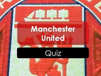 Football: Manchester United: Quiz