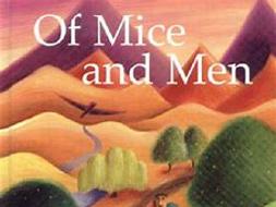 KS3 Of Mice and Men Assessment (Fight Scene) New GCSE Language Style
