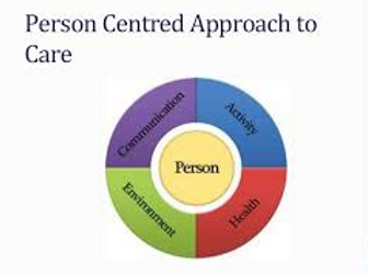 Health and Social Care- A Person Centred Approach