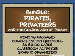 BUNDLE - PIRATES, PRIVATEERS AND THE GOLDEN AGE OF PIRACY