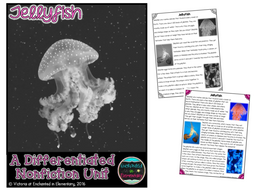 Differentiated Nonfiction Unit: Jellyfish