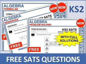 Maths SATs Bundle (Algebra)