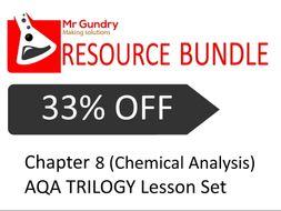AQA (Chemical Analysis) TRILOGY Lesson Set