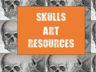 Drawing & Painting Skulls Bundle
