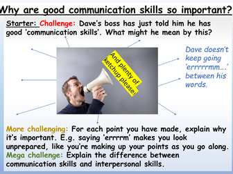 Communication + Teamwork Skills