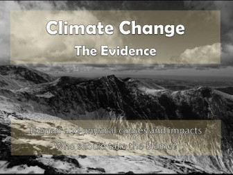 Climate Change: The Evidence