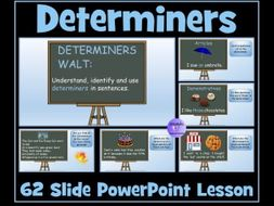 Determiners: PowerPoint Lesson