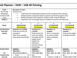 3D Printing - SOW - Create USB Cover