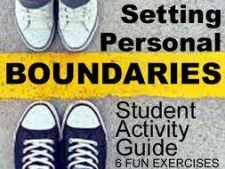 Oral Communication: Setting Personal Boundaries > Printable No Prep Handouts + Activities
