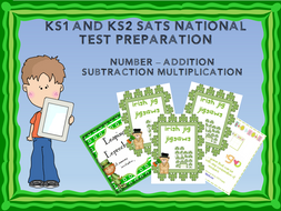 Numbers - Addition, Subtraction and Multiplication