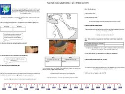 BBC Twentieth Century Battlefields - Ep6 - Middle East 73 - Worksheet to support the BBC Documentary