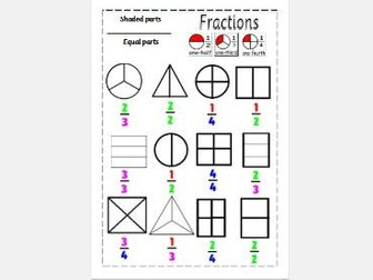 Fractions Year 2