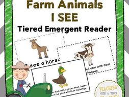 Farm Animals I See Emergent Readers