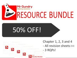 AQA Chapters 1-4: Revision Bundle