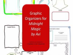 Graphic Organizers Plus Crossword Puzzles  for Midnight Magic
