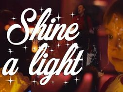 Shine a light: The perfect Christmas song. Great for group singing.