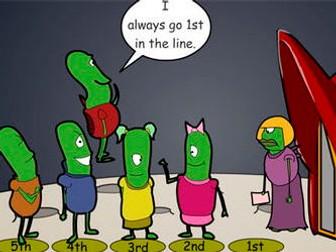 Alien Lining Up