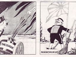 Card Sort: Why did the League fail to stop the Japanese invasion of Manchuria?
