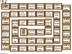 Conditional Sentences Types 0 and 1 Animated Board Game