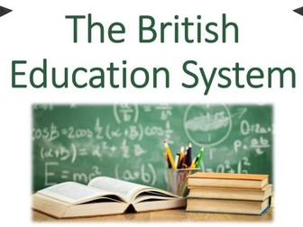 The British Education System
