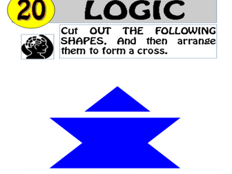 Logic Puzzle 20 of 20 (with solution)