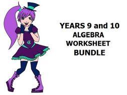 Algebra for Year 9/10