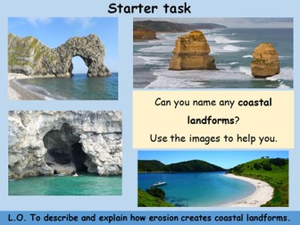 Coasts - Erosional Landforms