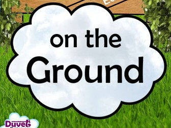 A Cloud On The Ground (Rhyming Story Book)