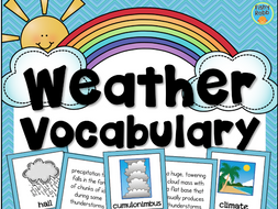 Weather Science Vocabulary