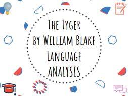 the tyger blake analysis
