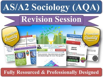 Conceptions of Culture - Culture & Identity - Revision Session ( AQA Sociology AS A2 KS5 ) High Low