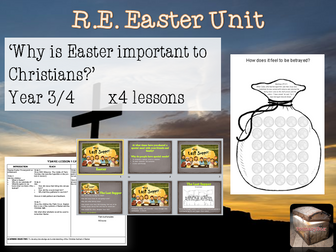 RE EASTER UNIT for Year 3 / Year 4