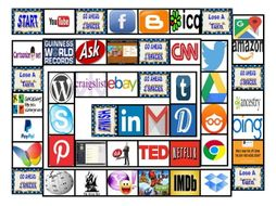Internet Sites Board Game