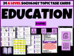 Culture and Education Sociology Task Cards
