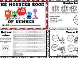 The Monster book of Maths Year 1