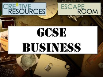 GCSE Business Escape Room