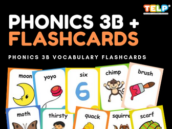 Phonics 3B FLASHCARDS