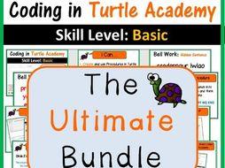 Turtle Academy Coding Programming Bundle