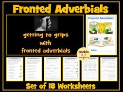 Fronted Adverbials Worksheets